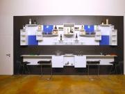 shnel bar interior design horeca cafe with shelves decorated