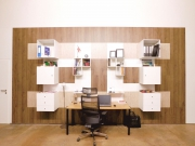 shnel büro möbel horeca ladenbau inneneinrichtung mit schränken dekoriert