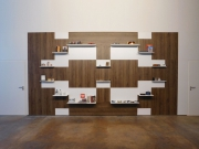 shnel living room interior design horeca with shelves decorated