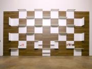 shnel living room interior design individual shop fitting shelves wood oak waiting area